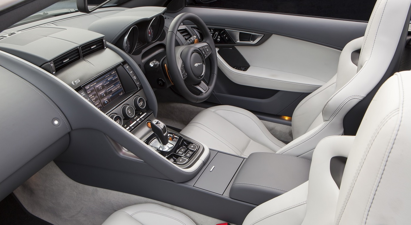 jaguar f type interior manual